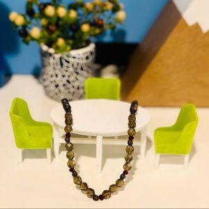 Jewelry - 📿 Quartz & Garnet Necklace